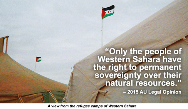 Illegal Exploitation Of Natural Resources In Western Sahara